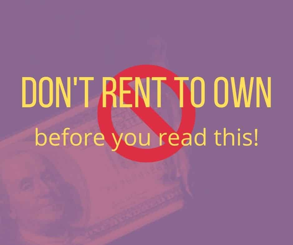 In Albuquerque, rent to own homes are a popular idea for first-time home buyers, but is rent to own legit? Don't try it until you read this!