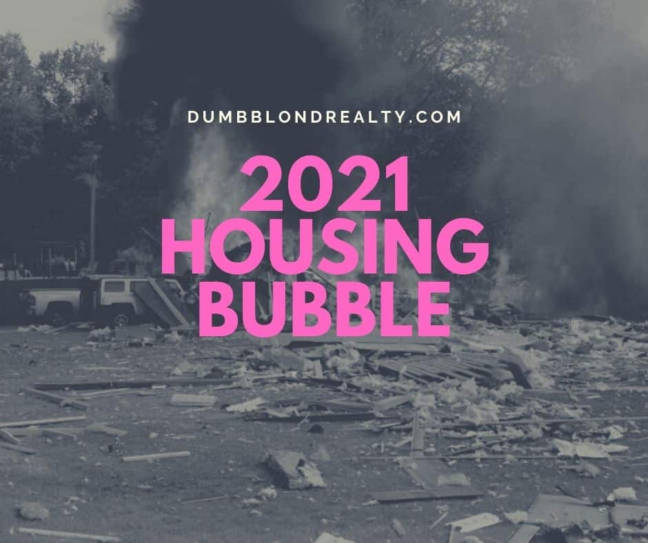 2021 Housing Bubble: Fact or fiction? Let's talk about the idea that we're in a housing bubble, the market in general, and the signs that we're actually a-ok.